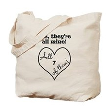 YES, THEYRE ALL MINE - CUSTOMIZABLE Tote Bag