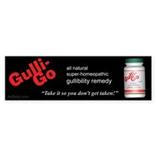 GulliGo Bumper Bumper Sticker