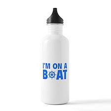 I'm On A Boat Water Bottle