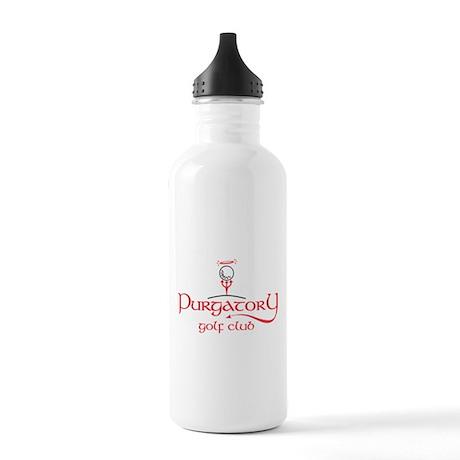 Purgatory Golf Club Logo Stainless Water Bottle 1.