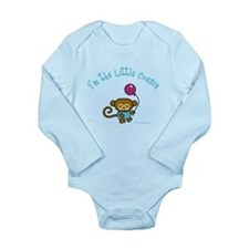 Cute Big cousin Long Sleeve Infant Bodysuit