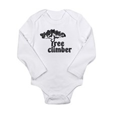 tree climber black Body Suit