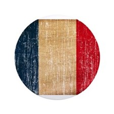 "France Flag 3.5"" Button"