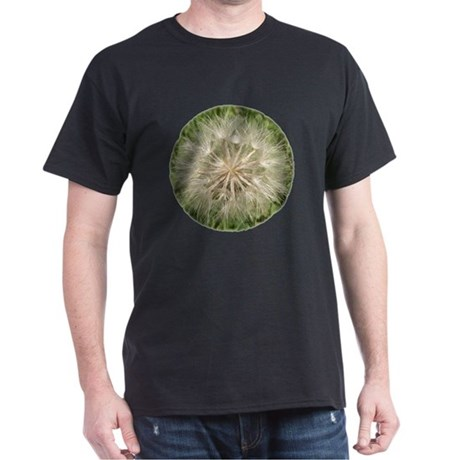 Milkweed Seeds Black T-Shirt