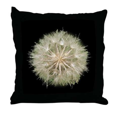 Milkweed Seeds Throw Pillow