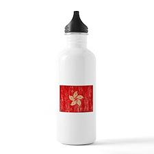 Hong Kong Flag Water Bottle