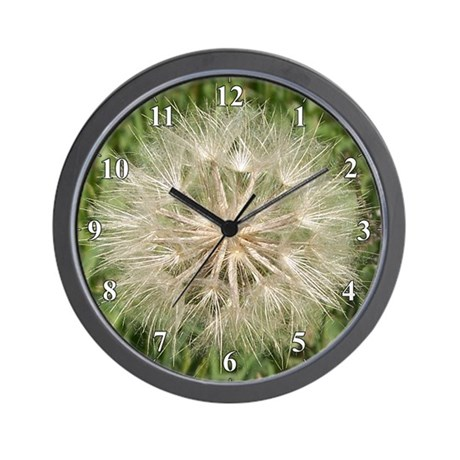 Milkweed Seeds Wall Clock
