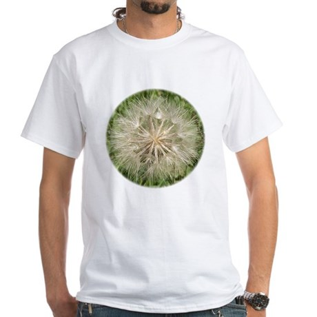 Milkweed Seeds White T-Shirt
