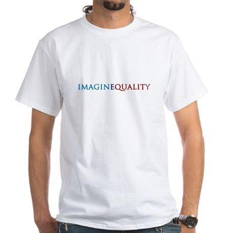 IMAGINEQUALITY - White T-Shirt