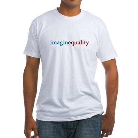 imaginequality - Fitted T-Shirt
