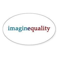 imaginequality Ovel Decal