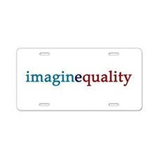 imaginequality - Aluminum License Plate