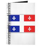 Drapeau Quebec Bleu Rouge Journal