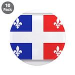 Drapeau Quebec Bleu Rouge 3.5