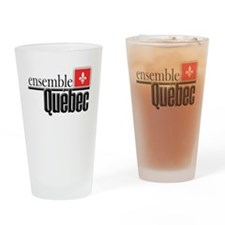 Quebec Ensemble Drinking Glass