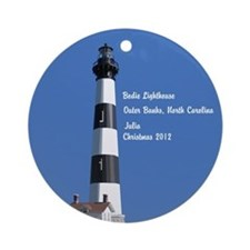 Bodie Lighthouse OBX NC Personalized Ornament