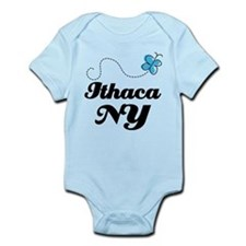 Ithaca New York Infant Bodysuit