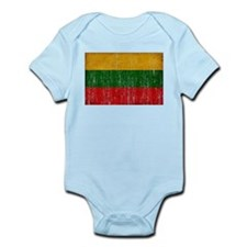 Lithuania Flag Infant Bodysuit
