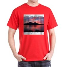 Unique Volcano T-Shirt