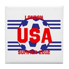 Team USA Tile Coaster