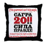 Sagra Throw Pillow
