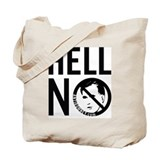 Hell No Mitt Romney 1 Tote Bag
