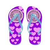Oncology Nurse Flip Flops