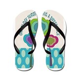 Oncology nurse CP TALL PHONES.PNG Flip Flops