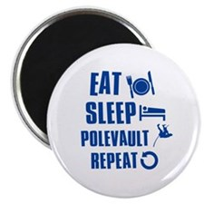 "Eat Sleep Pole Vault 2.25"" Magnet (100 pack)"