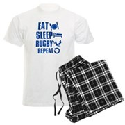 Eat Sleep Rugby Pajamas