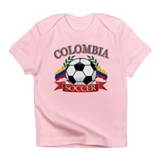 Colombia Soccer designs Infant T-Shirt