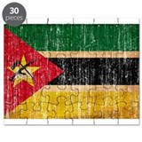 Mozambique Flag Puzzle