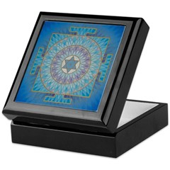 Keepsake Box Moon Yantra