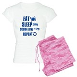 Eat Sleep Scuba Dive pajamas
