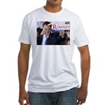 unicorns for romney horn 1 copy.png Fitted T-Shirt