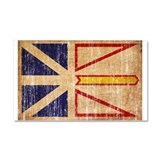 Newfoundland Flag Car Magnet 20 x 12