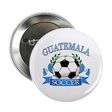 "Guatemala Soccer designs 2.25"" Button (100 pack)"