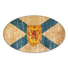 """""""Nova Scotia Flag Decal"""