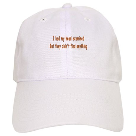 Humorous Empty Head Examination Cap