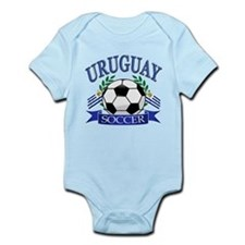 Uruguay Soccer designs Infant Bodysuit