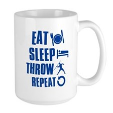 Eat Sleep Throw Javelin Mug