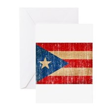 Puerto Rico Flag Greeting Cards (Pk of 20)