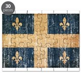 Quebec Flag Puzzle