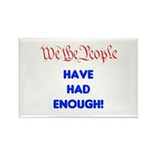 wethepeople had enough Rectangle Magnet (10 pack)