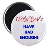 "wethepeople had enough 2.25"" Magnet (100 pack)"