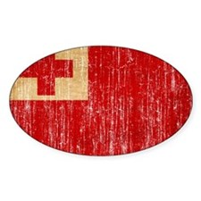 Tonga Flag Decal