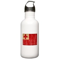 Tonga Flag Water Bottle