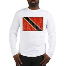 Trinidad and Tobago Flag Long Sleeve T-Shirt