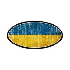 Ukraine Flag Patches