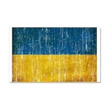 Ukraine Flag Car Magnet 20 x 12